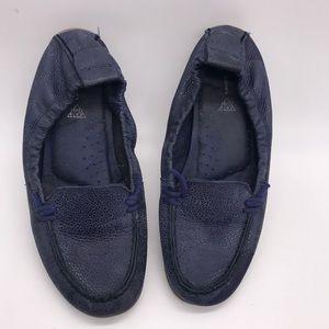 Hush Puppies Blue Slip On Sz 9